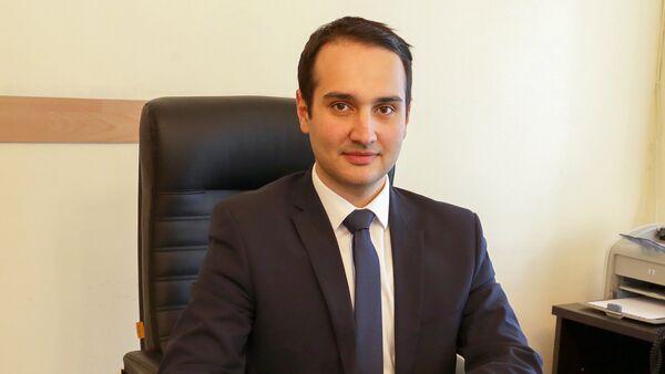 Заместитель министра экономического развития и инвестиций Армении Аваг Аванесян - Sputnik Արմենիա