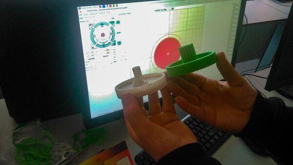 Школьная инженерная лаборатория ArMath деревни Айгеовит - Sputnik Արմենիա