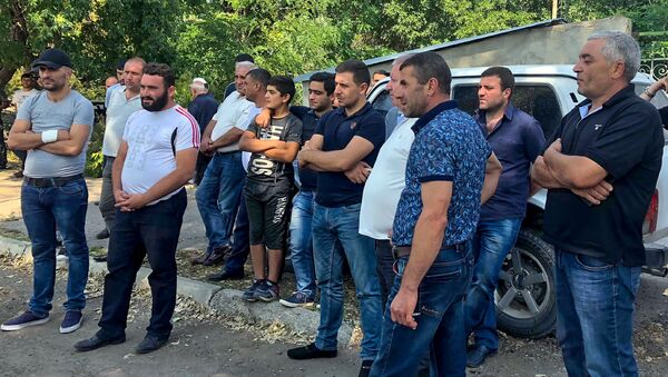 Жители Маралика требуют отставки главы общины (24 августа 2018). Маралик - Sputnik Армения