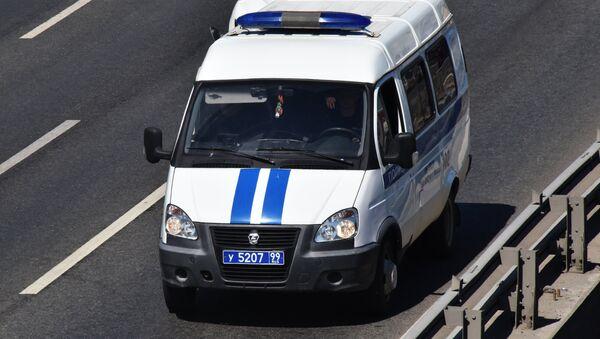 Автомобиль полиции. - Sputnik Армения
