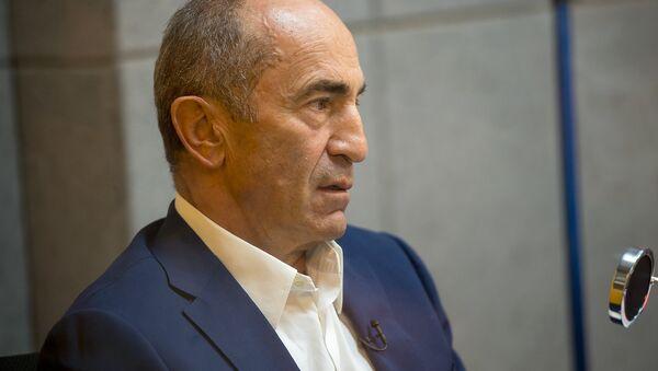 Второй президент Республики Армения Роберт Кочарян в гостях у Sputnik Армения - Sputnik Армения