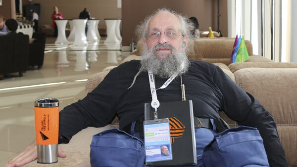 Публицист, журналист, телеведущий, политический консультант, многократный победитель интеллектуальных телеигр Анатолий Вассерман - Sputnik Армения