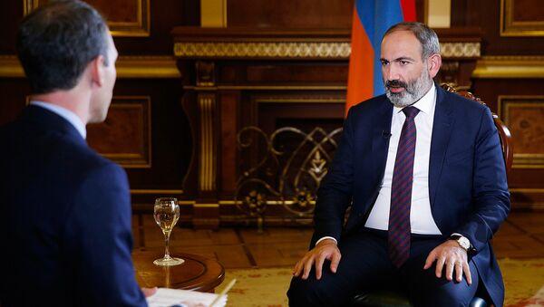Интервью премьер-министра Никола Пашиняна телекомпании Аль-Джазира - Sputnik Արմենիա