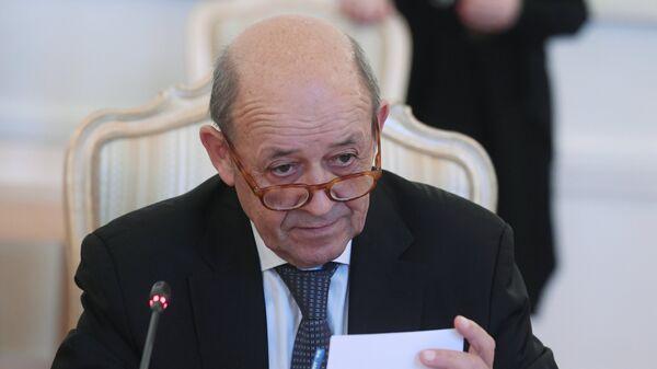 Министр иностранных дел Франции Жан-Ив Ле Дриан  - Sputnik Армения