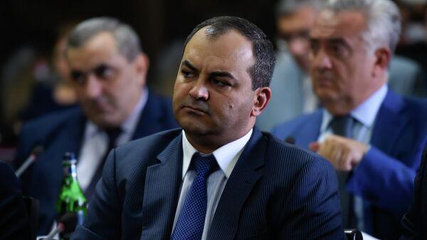 Генеральный прокурор Армении Артур Давтян на заседании правительства Армении (6 сентября 2018). Еревaн - Sputnik Армения