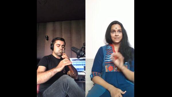 Армянский дудук и индийская певица - Sputnik Армения