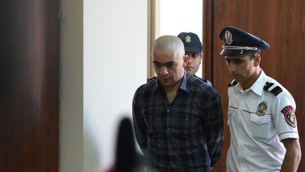 Судебное заседание по вопросу ареста Айка Саргсяна (7 сентября 2018). Ереван - Sputnik Армения