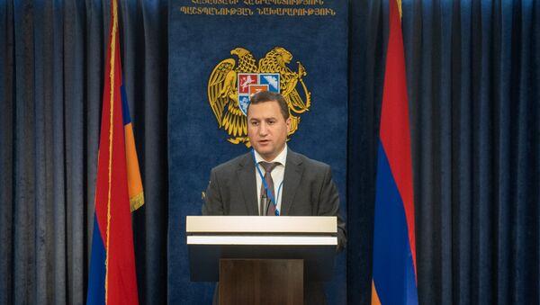 Брифинг пресс секретаря МИД Тиграна Балаяна - Sputnik Армения