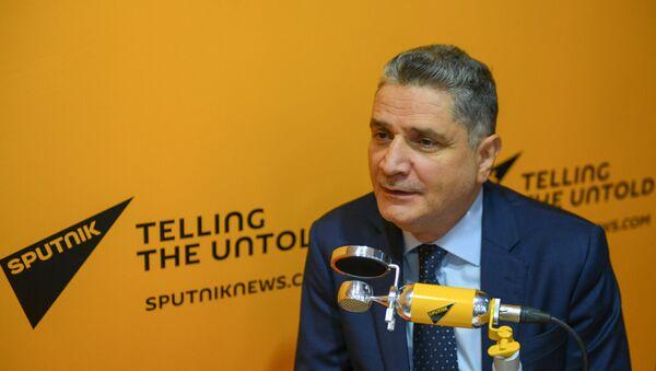 Тигран Саркисян на радио Sputnik - Sputnik Արմենիա