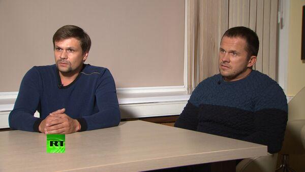 Петров и Боширов: из-за действий британских властей мы опасаемся за нашу жизнь - Sputnik Армения