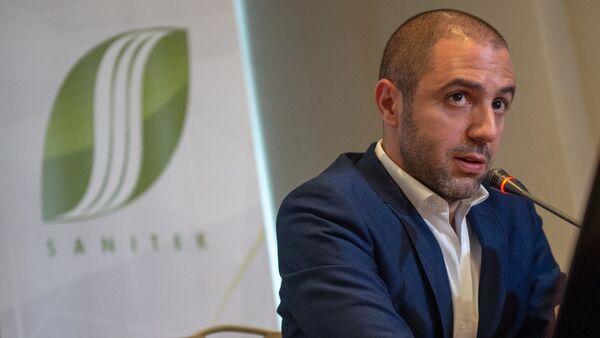 Директор компании Sanitek Николас Эль Тавил (14 сентября 2018). Ереван - Sputnik Արմենիա