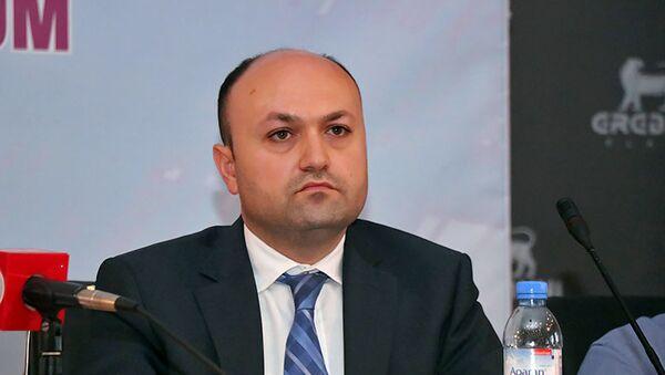 Заместитель министра труда и социальных вопросов Арман Удумян - Sputnik Արմենիա