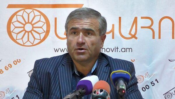 Артак Саркисян - Sputnik Արմենիա