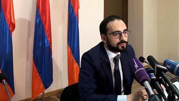 Рабочий визит вице-премьера Тиграна Авиняна в Ширакскую область (19 сентября 2018). Гюмри - Sputnik Армения