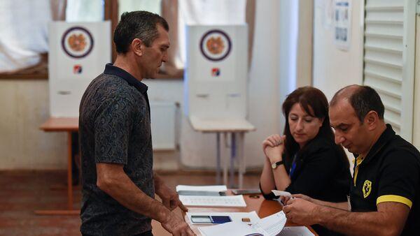 Выборы совета старейшин Еревана (23 сентября 2018). Еревaн - Sputnik Արմենիա