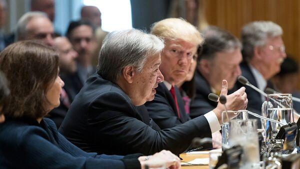 Соединенные Штаты созвали мероприятие высокого уровня по борьбе с наркотиками, в ходе которого президент США Дональд Трамп представил свой глобальный призыв к действиям по мировой проблеме наркотиков - Sputnik Армения