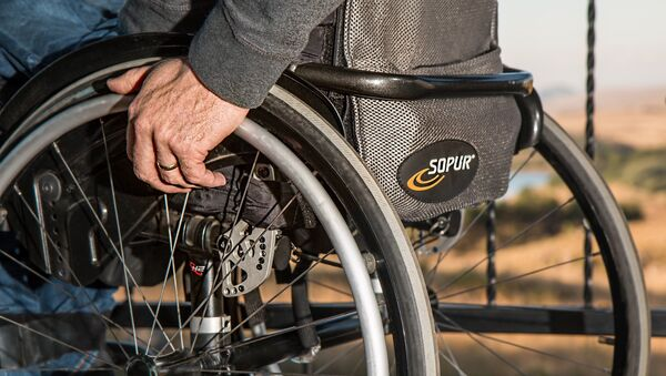 Люди с ограниченными физическими способностьями - Sputnik Արմենիա