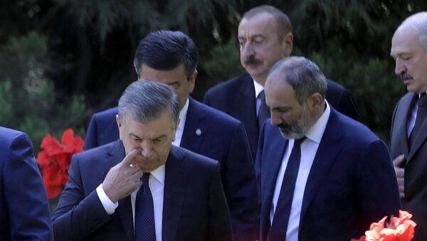 Заседание Совета глав государств СНГ в Душанбе  - Sputnik Армения