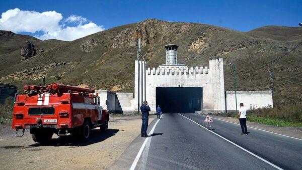 Пожар в тоннеле Дилижана - Sputnik Արմենիա