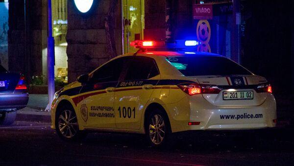 Автомобиль дорожной полиции Армении - Sputnik Армения