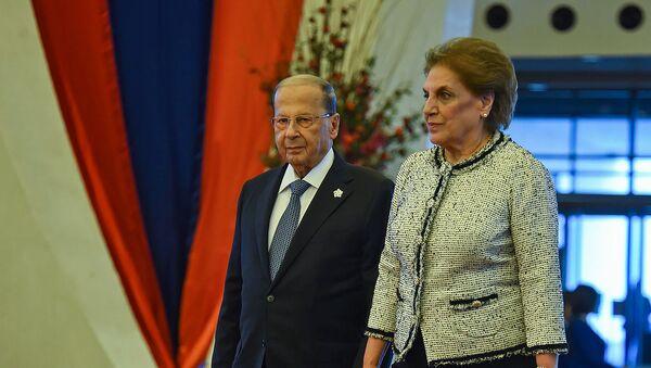 Президент Ливана Мишель Наим Аун на XVII саммите Франкофонии (11 октября 2018). Еревaн - Sputnik Արմենիա