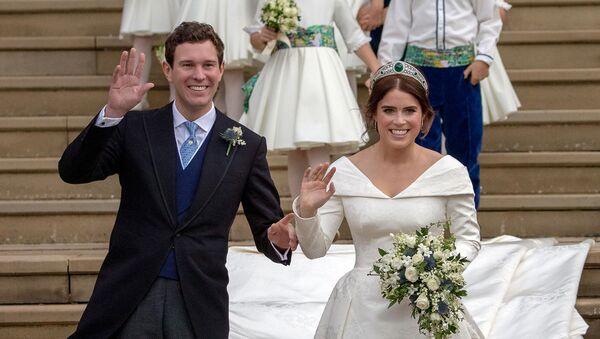 Свадьба британской принцессы Евгении Йоркская и Джека Бруксбанка (12 октября 2018). Виндзор - Sputnik Армения