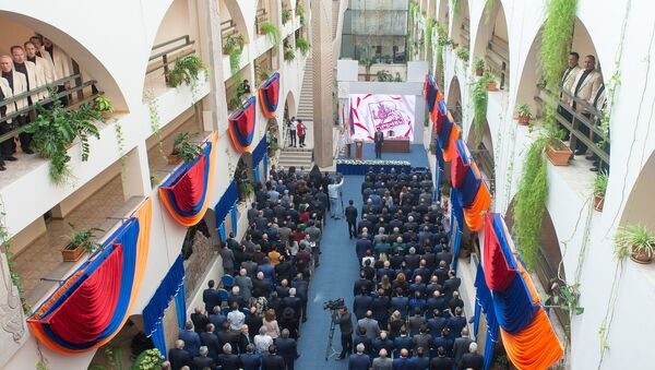 Церемония инаугурации мэра Еревана Айка Марутяна (13 октября 2018). Еревaн - Sputnik Արմենիա