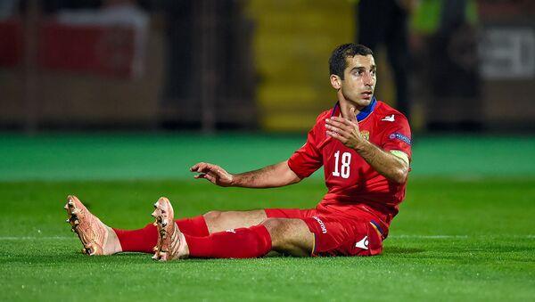 Футбольный матч Лиги Наций УЕФА между сборными Армении и Гибралтара (13 октября 2018). Еревaн - Sputnik Արմենիա