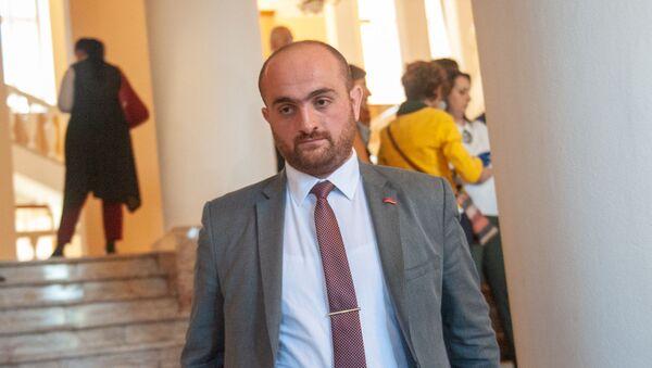 Губернатор Арагацотна Давид Геворкян после заседания Правительства Армении (16 октября 2018). Еревaн - Sputnik Армения