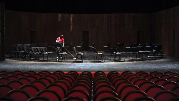 Театральная сцена. Архивное фото - Sputnik Արմենիա