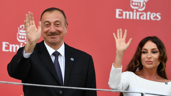 Իլհամ Ալիևը` կնոջ հետ - Sputnik Արմենիա