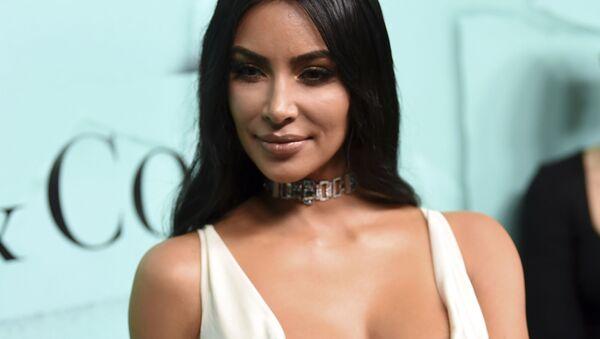 Телезвезда Ким Кардашьян на презентации новой коллекции Tiffany & Co - Sputnik Армения