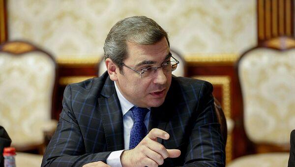 Председатель КГД Давид Ананян на совещании у премьер-министра (25 октября 2018). Еревaн - Sputnik Արմենիա