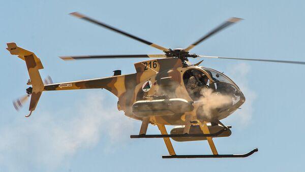 Военный вертолет MD-530F - Sputnik Армения