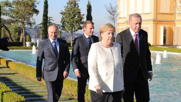 Встреча лидеров России, Франции, Германии и Турции (27 октября 2018). Стамбул - Sputnik Армения