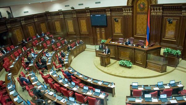 Заседание Национального Собрания РА (1 ноября 2018). Ереван - Sputnik Արմենիա