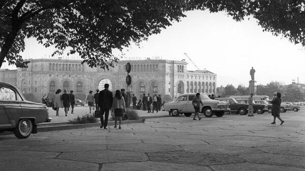 Площадь Ленина в Ереване - Sputnik Արմենիա