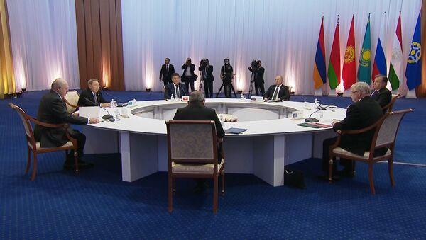 Заседание Совета коллективной безопасности ОДКБ в Астане - Sputnik Армения