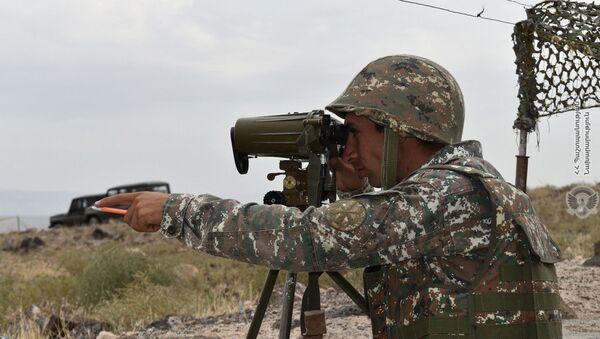 Учения армянских артиллеристов - Sputnik Армения