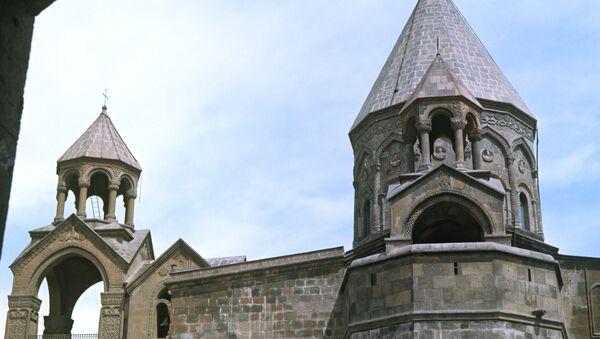 Кафедральный Собор в Эчмиадзине - Sputnik Армения