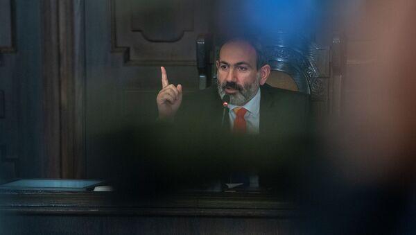 Пресс-конференция и.о. премьер-министра Армении Никола Пашиняна (20 ноября 2018). Еревaн - Sputnik Արմենիա