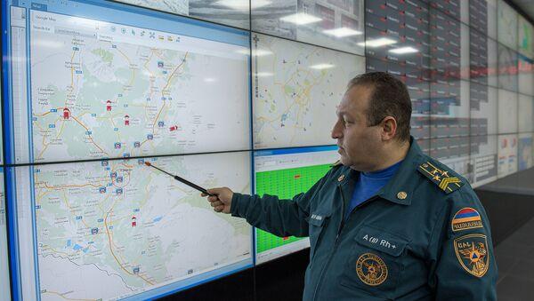 Руководитель Центра кризисного управления Оганес Хангелдян - Sputnik Արմենիա