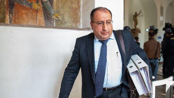 Адвокат Айк Алумян ответил в Апелляционном суде Армении (28 ноября 2018). Еревaн - Sputnik Армения