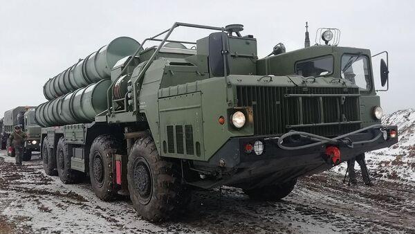 Дивизион С-400 Триумф заступил на боевое дежурство в Крыму - Sputnik Армения