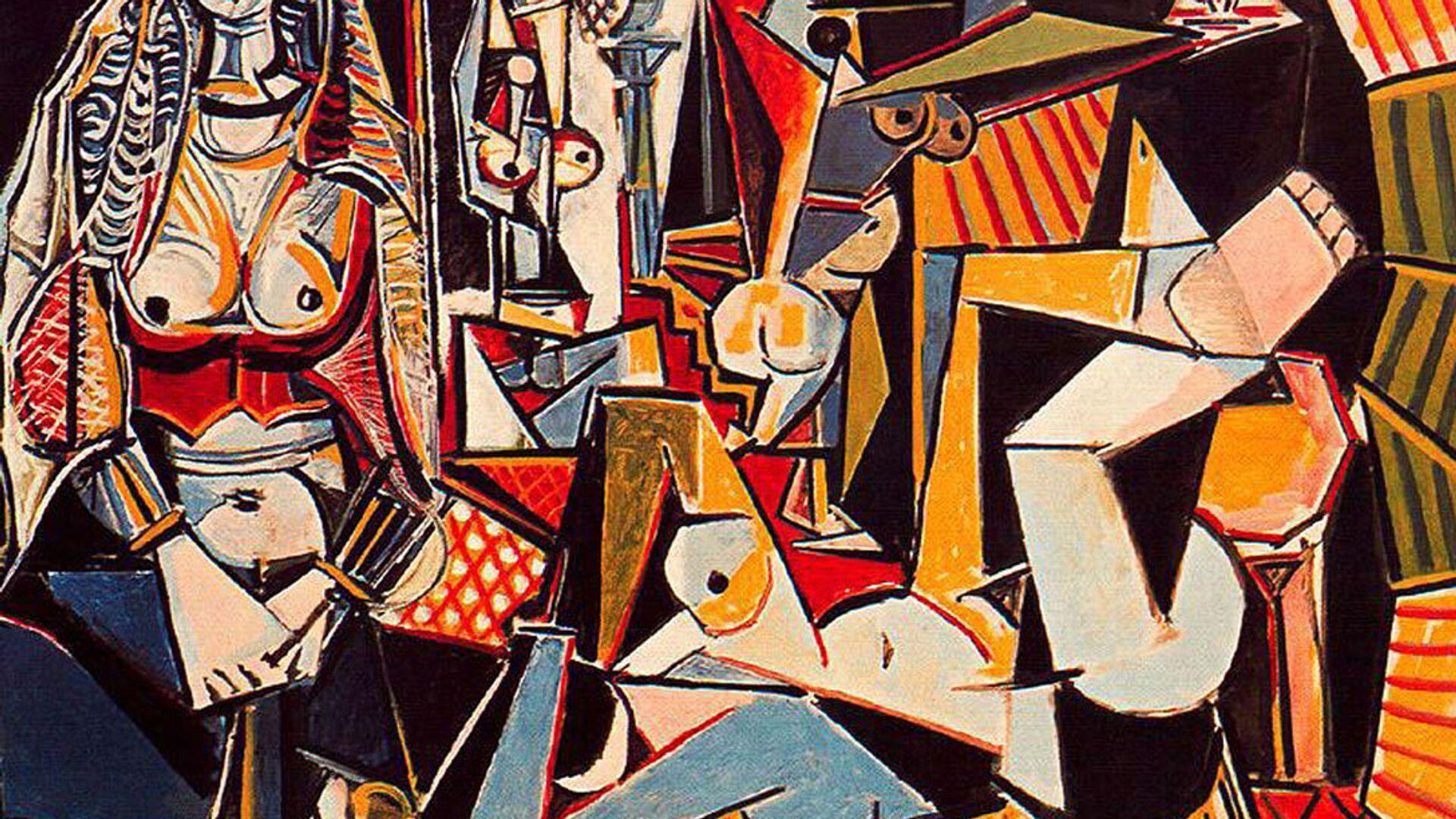 «Алжирские женщины (Версия О)» Пабло Пикассо - Sputnik Армения, 1920, 20.09.2021