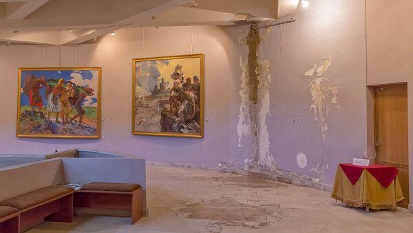 Интерьер галереи Эдуарда Исабеляна - Sputnik Արմենիա