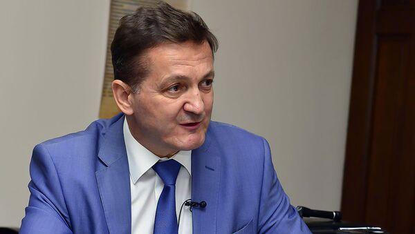 Военный эксперт Александр Хроленко - Sputnik Армения