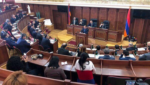 Заседание Правительства Армении (7 декабря 2018). Гюмри - Sputnik Армения