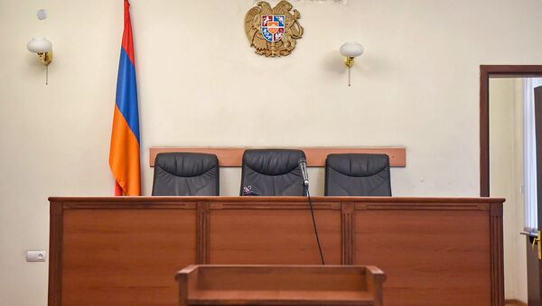 Зал заседаний в Апелляционном суде Армении - Sputnik Արմենիա