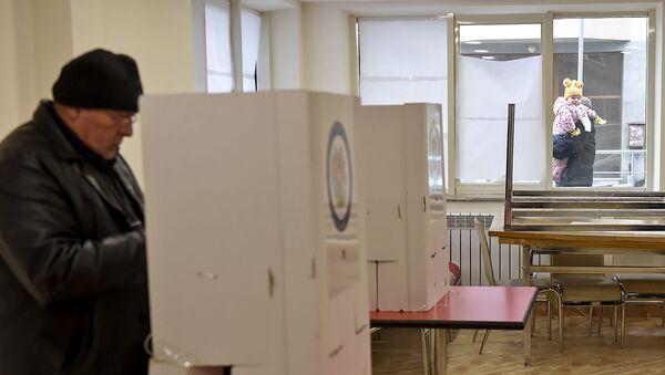Внеочередные выборы в Национальное собрание Армении (9 декабря 2018). Еревaн - Sputnik Армения